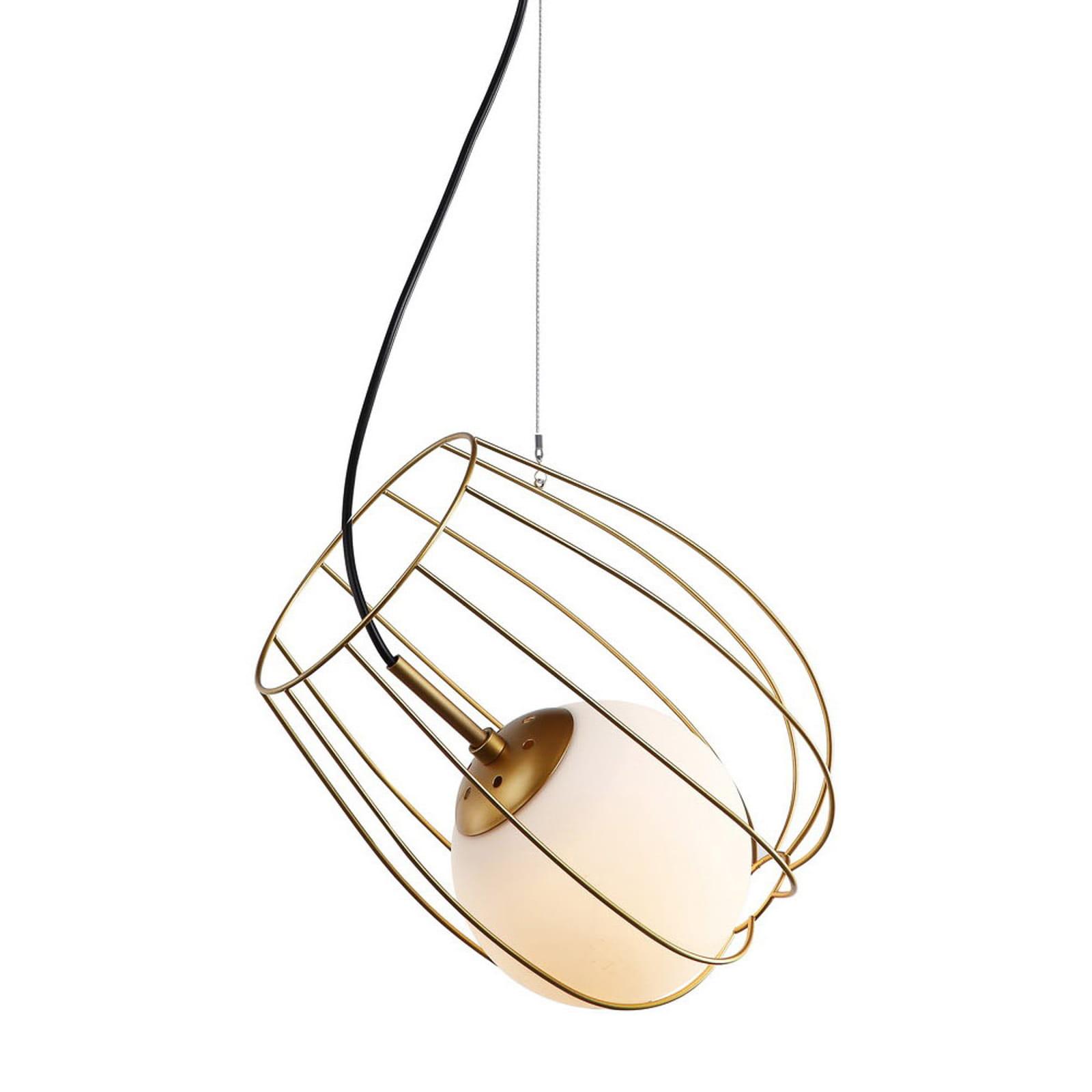Lampa Sufitowa Melisa Zlota Kula Italux Mdm 3943 1 Gd