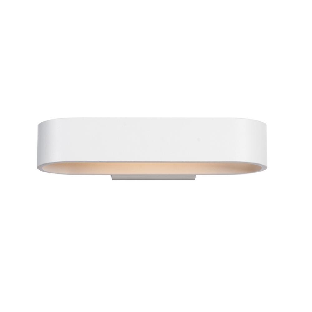 Fantastyczny Kinkiet RALPH LED Italux biały MB13006051-6D lampa ścienna FW17